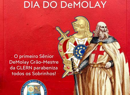18 DE MARÇO: DIA DO DeMOLAY