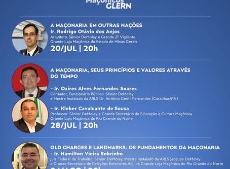 GLERN promove série de eventos para estudos virtuais