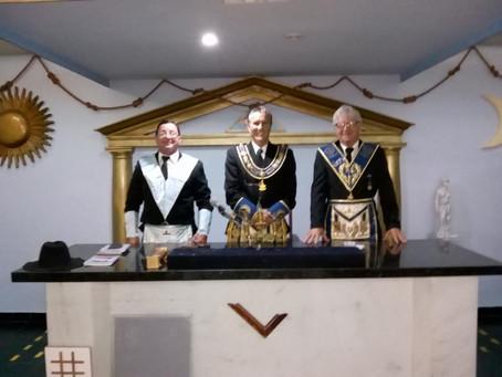 GLERN inicia Ano Maçônico na Loja Cavaleiros DeMolay