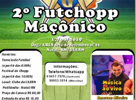 2º FUTCHOPP MAÇÔNICO