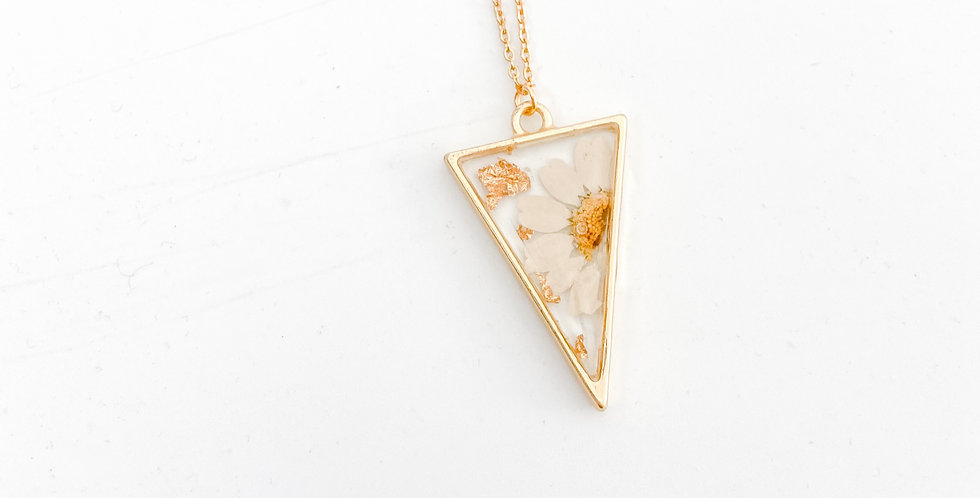 Mini madeliefje ketting
