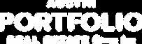 Austin Portfolio Real Estate White Logo