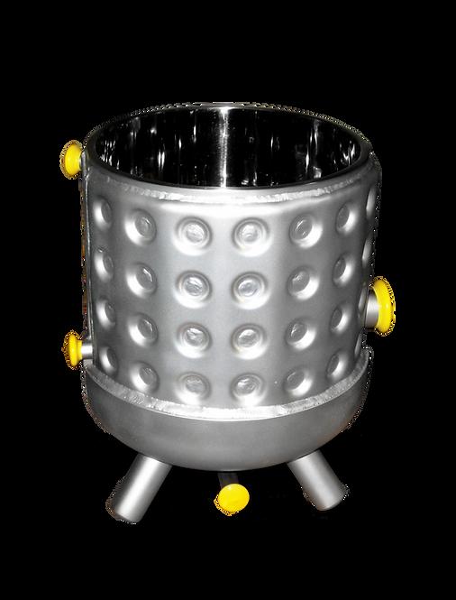 SPS kettle with jacket. bead blasted finish