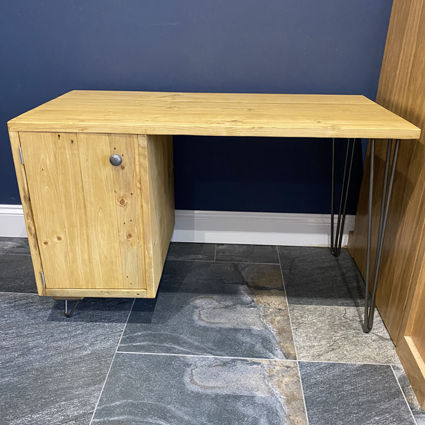 DESK WITH CUPBOARD