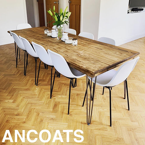 ANCOATS Hairpin Table