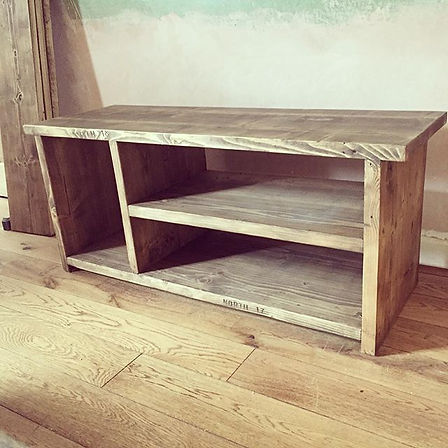 Delivered this TV unit made to fit insid