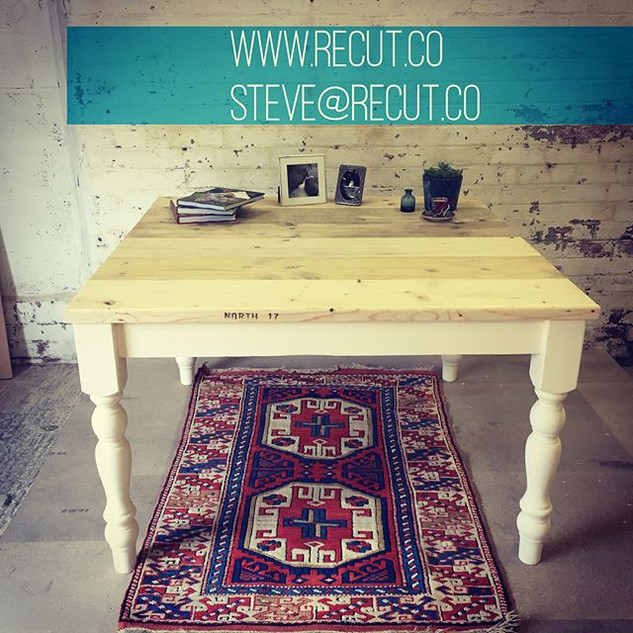Love this #diningroom #table made with a
