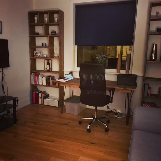 SHELVING AND DESK