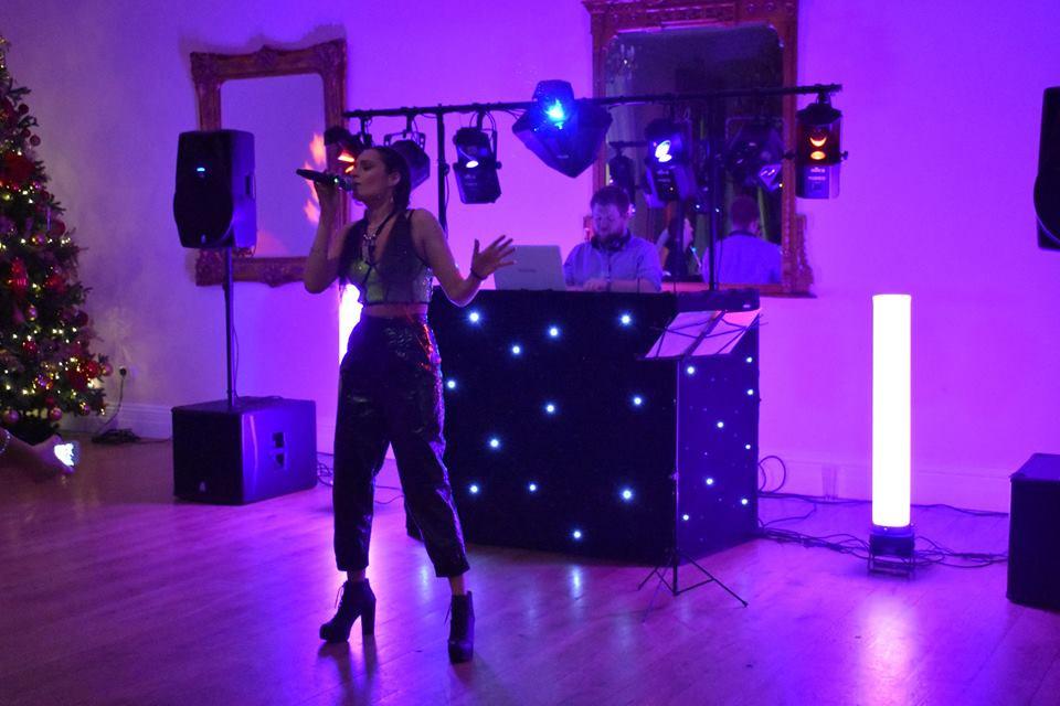 Doxford Hall Wedding DJ & Club Singer