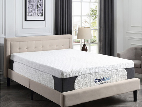 Macy's Cool Gel Memory Foam Mattress 77%off