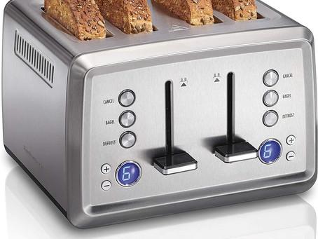 Amazon 四片烤面包机,Prime 包邮只要$49.99