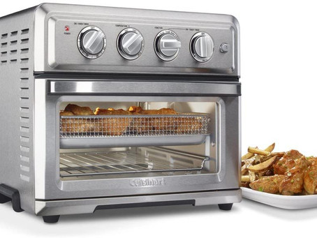 Amazon Only $159,99 Cuisinart TOA-60 AirFryer, Convection Toaster Oven, Silver