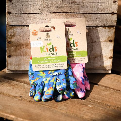 Kids Gardening Gloves Age 3-5 - Blue