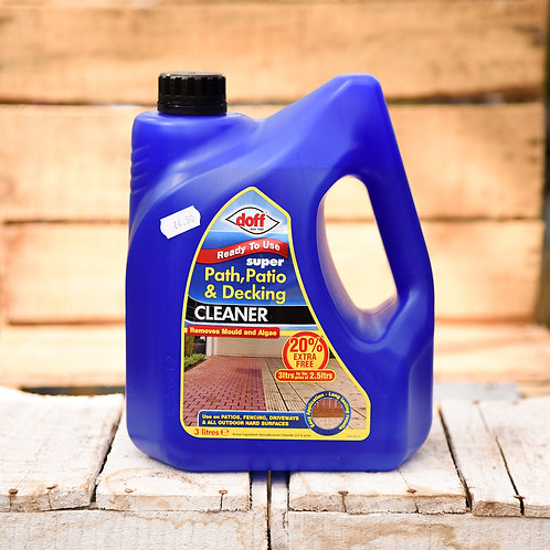 Doff Path and Decking Cleaner 3Ltr