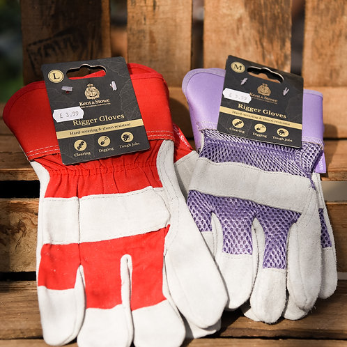 Rigger Gloves - Purple Medium