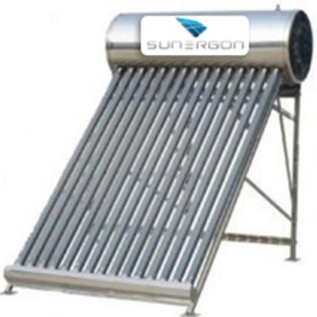 Calentador  solar 15 tubos Alta Presión heat pipe