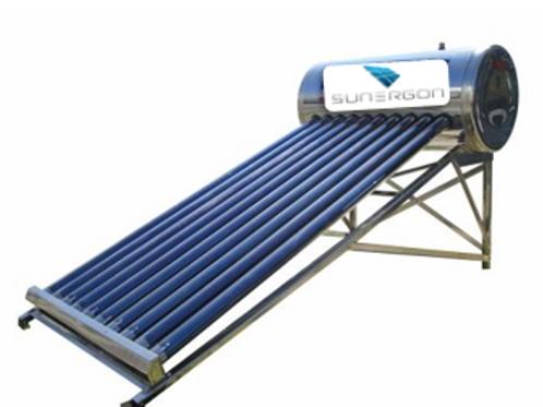 Calentador solar 10 Tubos Alta Presión