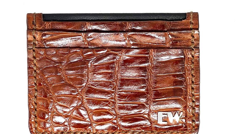 विदेशी साइमन कार्ड धारक - पेट मैं - भूरे रंग में