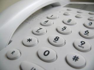 Updated landline number