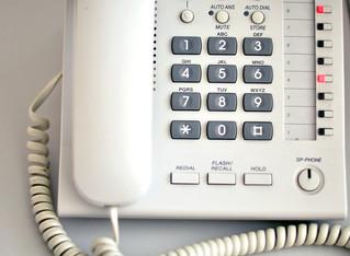 New landline numbers