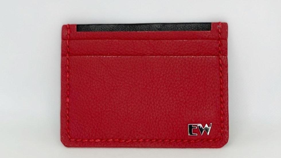 विदेशी बोवाइन कार्ड धारक - लाल