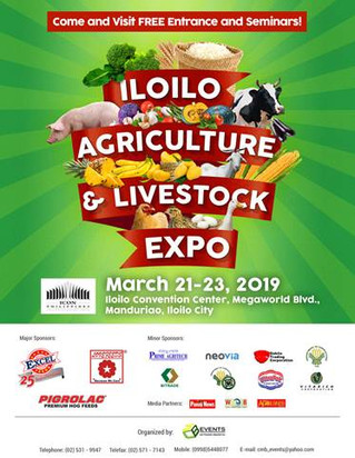 Join us at the Iloilo Agriculture and Livestock Fair on March 21-23!