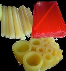 Polyurethane Tubes, Rods, and Cutting Sticks