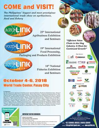 Visit us at AgriLink 2018