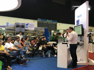 """Advanced Climate Control"" forum by Fancom at the Vemaval booth in Agrilink 2018!"