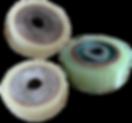 Polyurethane Drive and load wheels