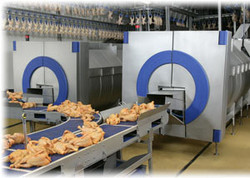 Poultry processing equipment In-line Marinating