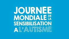 02 Avril 2021, 14ème Journée Mondiale de Sensibilisation à l'Autisme