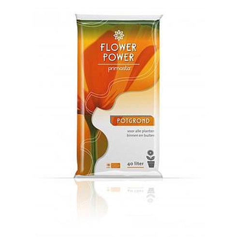 Potgrond (40 Liter) Flower power