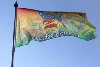 Doorzètters Vlag
