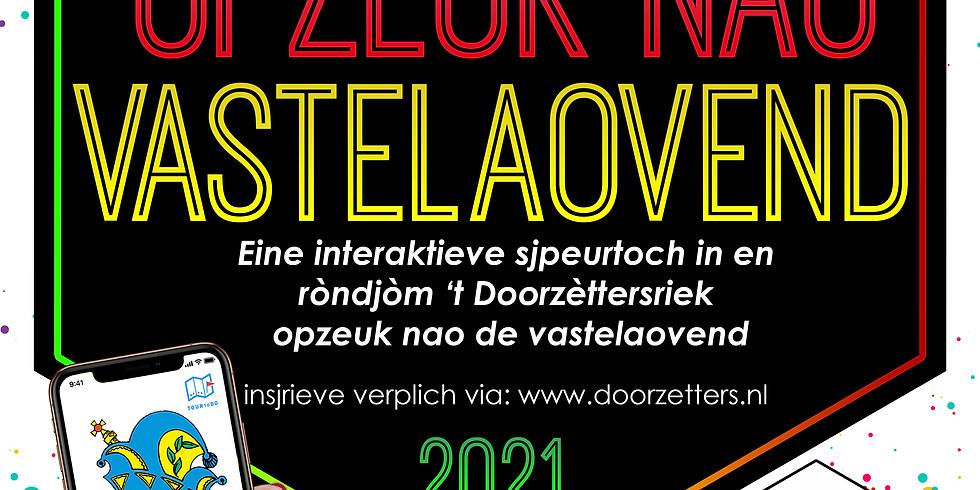 Opzeuk nao de Vastelaovend 2021