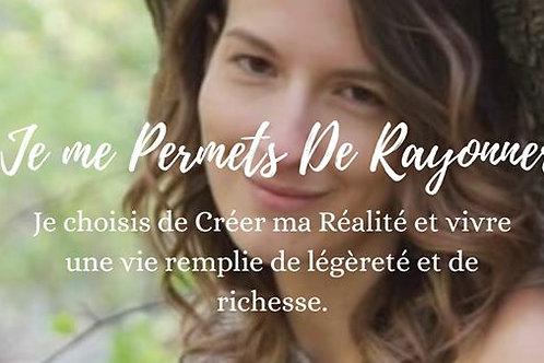 Conférence-Atelier Je me PERMETSde Rayonner