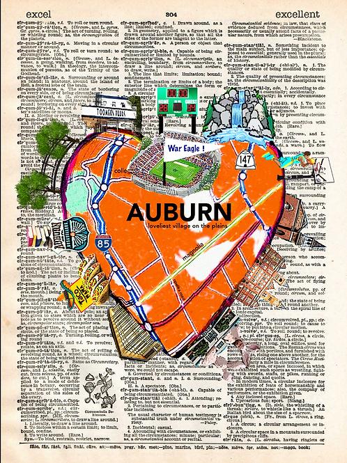 Auburn Heartwork