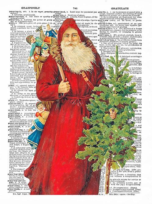 Vintage Santa - AW00282