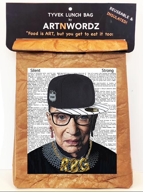 RBG (Ruth Badar Ginsberg Hip ) Lunch Bag