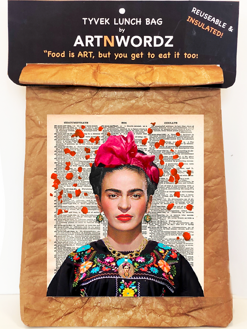 Frida Rose Lunch Bag