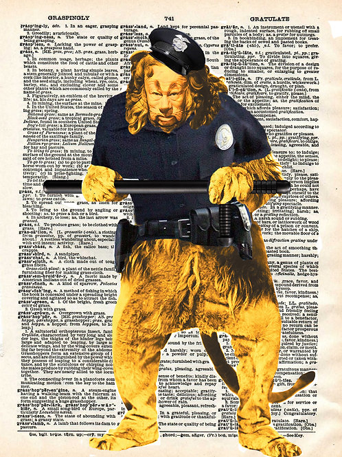 The Cowardly Lion - AW00327