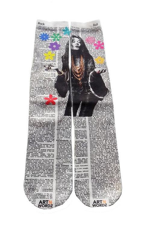 Janis Joplin socks