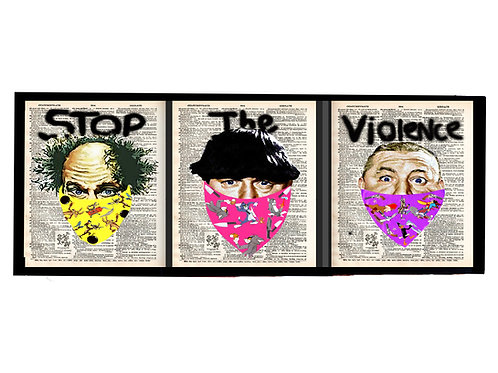 Stop The Violence ( 3 stooges ) - AW_T029