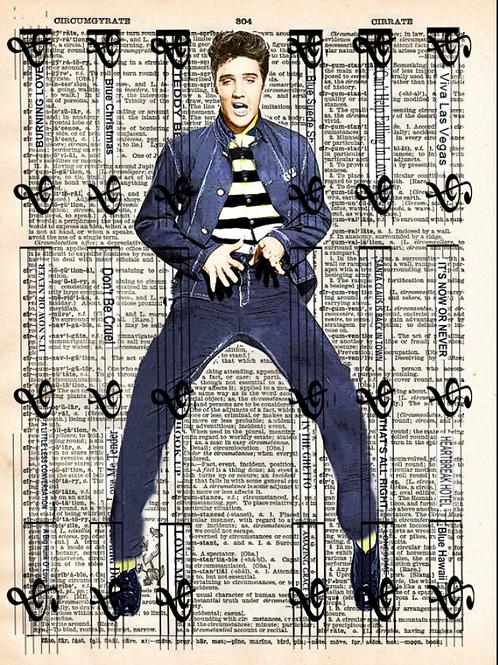 Behind Bars ( Elvis ) - AW00532