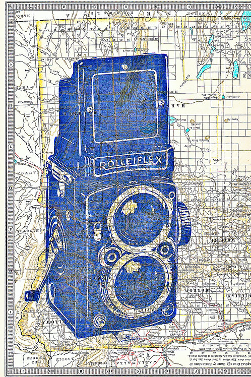Rolleiflex Camera Atlas - AW00054