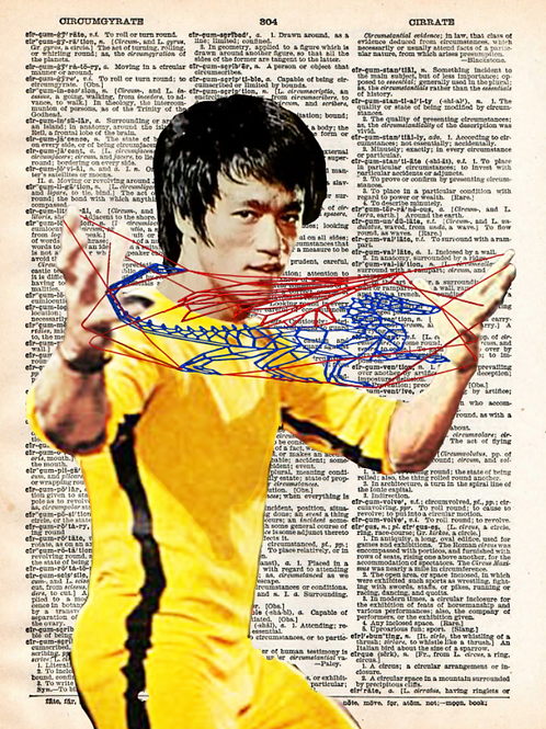 Bruce Lee (Martial String Arts) - AW00425