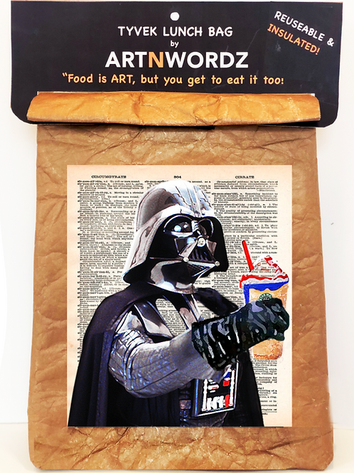 Darth Froth Lunch Bag