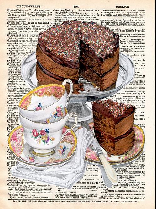 Chocolate Cake - AW00540