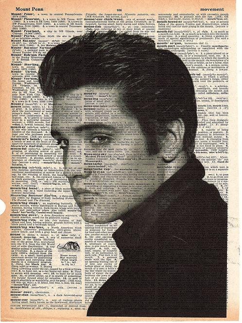 Elvis B/W - AW00142
