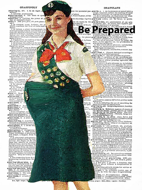 Girlscout Motto (Be Prepared) - AW00308